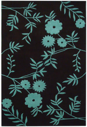 Safavieh Soho Soh774b Brown / Teal Area Rug