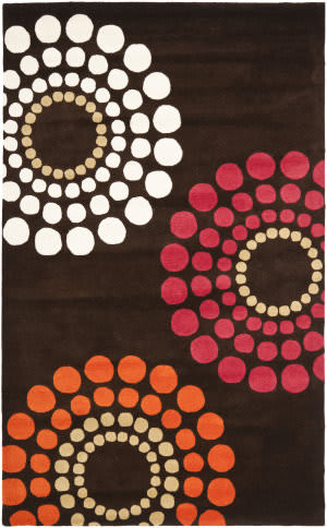 Safavieh Soho Soh788b Brown / Multi Area Rug