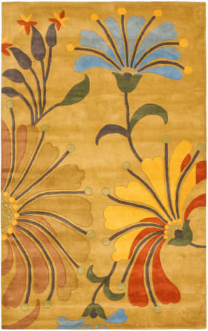 Safavieh Soho Soh826a Golden Olive Area Rug