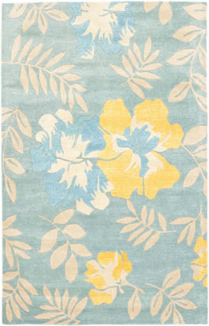 Safavieh Soho Soh838b Blue / Multi Area Rug