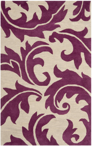 Safavieh Soho SOH841B Purple / Beige Area Rug