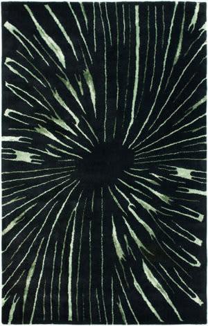 Safavieh Soho Soh845a Black / Multi Area Rug