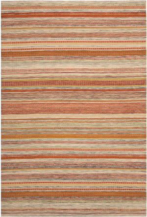 Safavieh Striped Kilim Stk311a Beige Area Rug