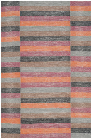 Safavieh Striped Kilim Stk411a Rust Area Rug