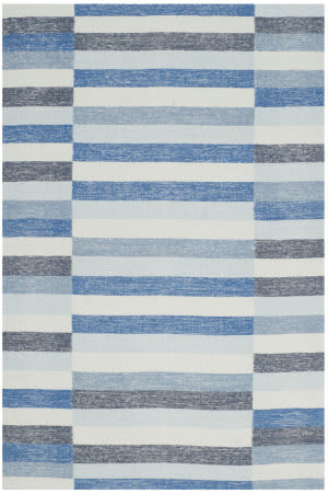 Safavieh Striped Kilim Stk411b Blue Area Rug