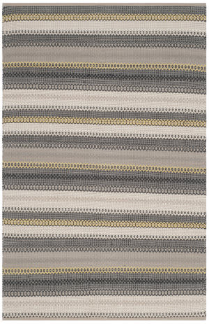 Safavieh Striped Kilim Stk412b Grey Area Rug