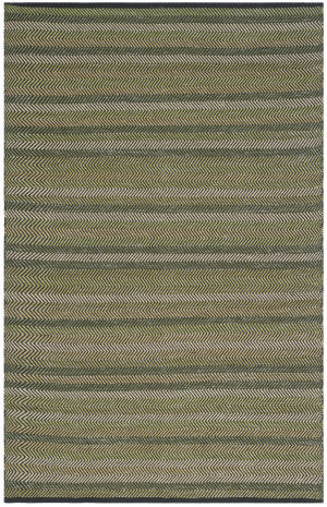 Safavieh Striped Kilim Stk421b Green Area Rug