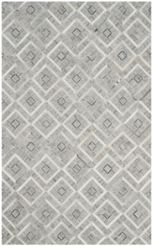 Safavieh Studio Leather Stl220a Ivory - Grey Area Rug
