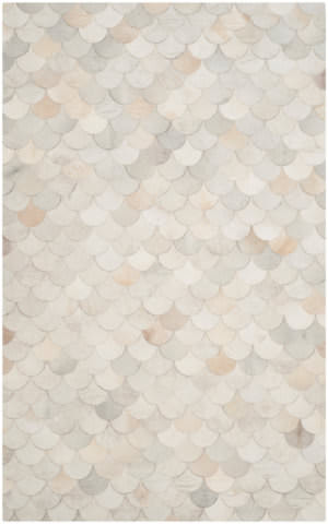 Safavieh Studio Leather Stl311a Ivory - Grey Area Rug