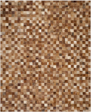 Safavieh Studio Leather STL517B Brown / Light Brown Area Rug
