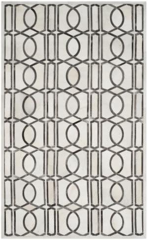 Safavieh Studio Leather Stl662a Ivory - Grey Area Rug
