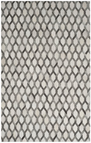 Safavieh Studio Leather Stl666a Ivory - Grey Area Rug