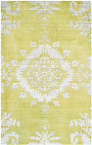 Safavieh Stone Wash Stw235a Chartreuse Area Rug