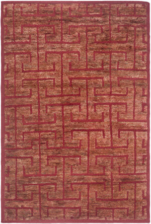 Safavieh Tangier Tgr417c Red / Rust Area Rug