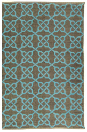 Safavieh Thom Filicia Tmf121b Spray / Blue Area Rug