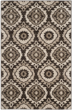 Safavieh Tunisia Tun292b Brown - Creme Area Rug