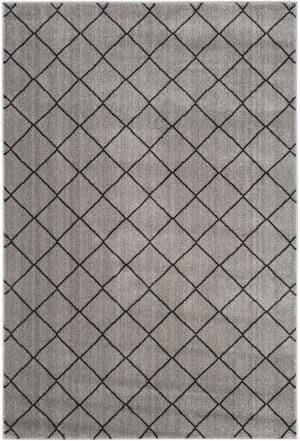 Safavieh Tunisia Tun294k Grey - Black Area Rug