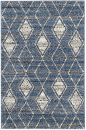 Safavieh Tunisia Tun296l Light Blue - Cream Area Rug