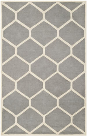 Safavieh Cambridge CAM144D Silver / Ivory Area Rug