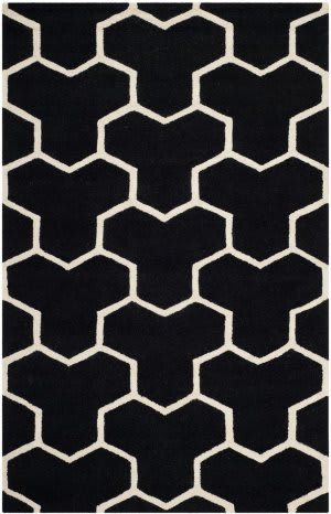 Safavieh Cambridge CAM146E Black / Ivory Area Rug