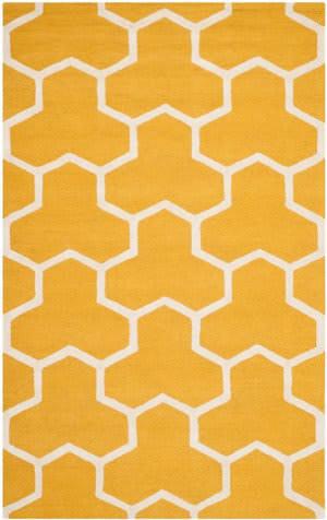 Safavieh Cambridge CAM146Q Gold / Ivory Area Rug