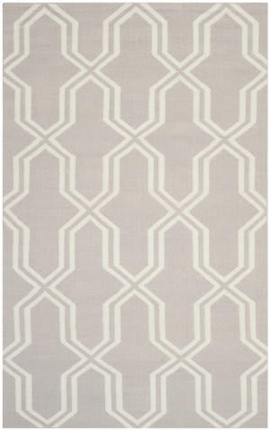 Safavieh Dhurries DHU559G Grey / Ivory Area Rug