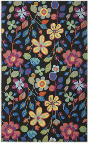 Safavieh Four Seasons Frs428a Black / Multi Area Rug