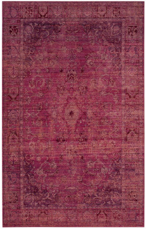 Safavieh Valencia VAL103R Red - Red Area Rug