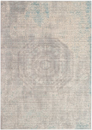 Safavieh Valencia Val205c Grey - Multi Area Rug