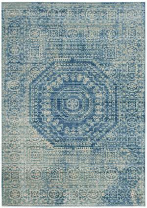 Safavieh Valencia Val205r Blue - Multi Area Rug