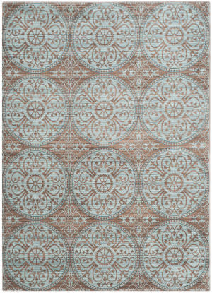 Safavieh Valencia Val214h Brown - Alpine Area Rug