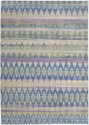 Safavieh Valencia Val220m Purple - Multi Area Rug