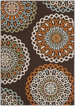 Safavieh Veranda Ver092 Chocolate - Terracotta Area Rug