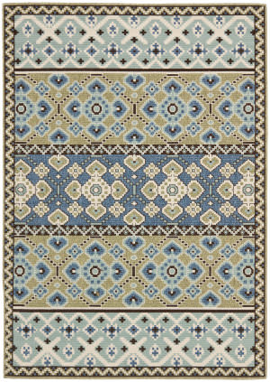 Safavieh Veranda Ver093 Green - Blue Area Rug