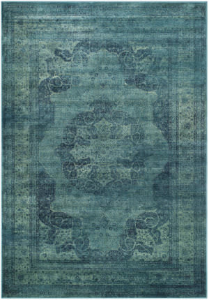 Safavieh Vintage Vtg158 Blue - Multi Area Rug