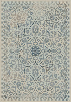 Safavieh Vintage Vtg175 Cream - Light Blue Area Rug