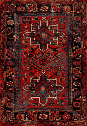 Safavieh Vintage Hamadan Vth211a Red - Multi Area Rug