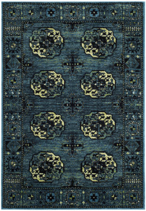 Safavieh Vintage Hamadan Vth212d Blue - Multi Area Rug
