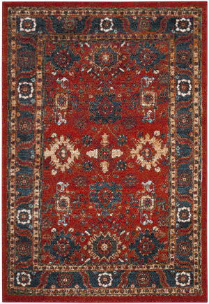 Safavieh Vintage Hamadan Vth214c Orange - Blue Area Rug