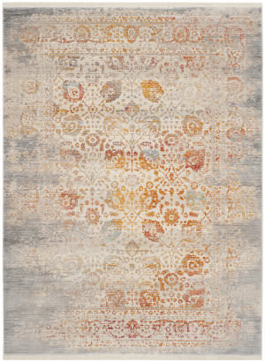 Safavieh Vintage Persian Vtp411c Grey - Multi Area Rug