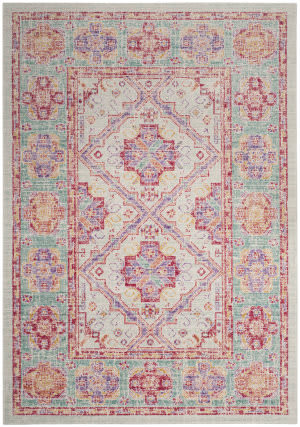 Safavieh Windsor Wds315s Spa - Fuchsia Area Rug