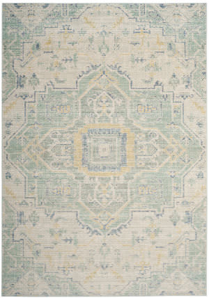 Safavieh Windsor Wds329l Light Grey - Seafoam Area Rug