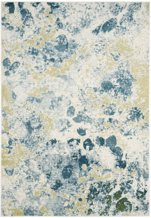 Safavieh Water Color Wtc696b Ivory - Light Blue Area Rug