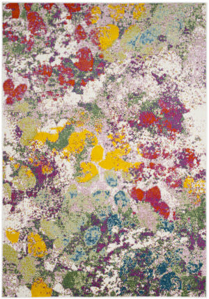 Safavieh Water Color Wtc696e Light Green - Rose Area Rug