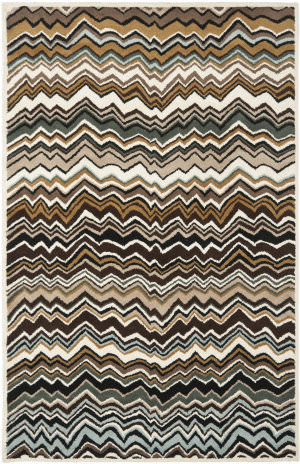 Safavieh Wyndham Wyd317a Brown / Multi Area Rug