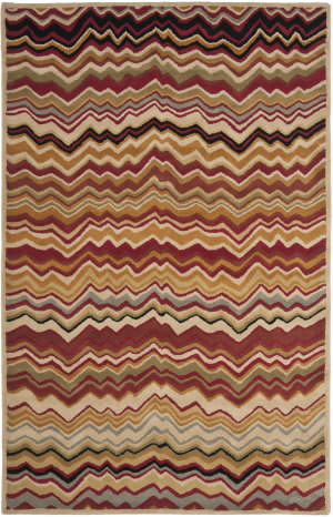 Safavieh Wyndham Wyd317b Red / Multi Area Rug