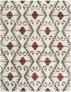 Safavieh Wyndham WYD323B Ivory / Brown Area Rug