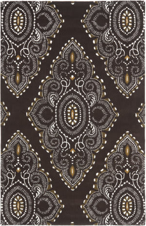 Safavieh Wyndham Wyd372b Brown / Ivory Area Rug