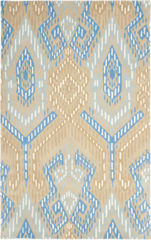 Safavieh Wyndham Wyd373b Beige / Blue Area Rug