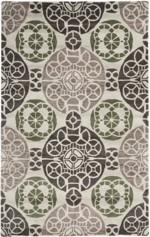 Safavieh Wyndham Wyd376b Ivory / Brown Area Rug
